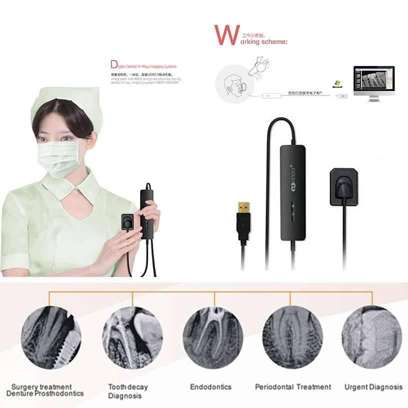 Mident Industrial Handy Brand Dental Digital X Ray Sensor System