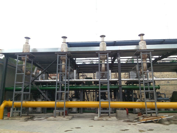 Exhaust Gas Heat Recovery Boiler For Coal Mine Generator Sets