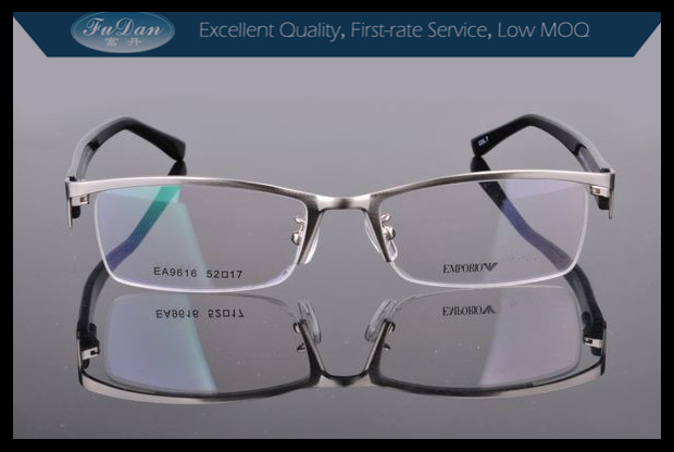 optical manufacturers silver eyeglass