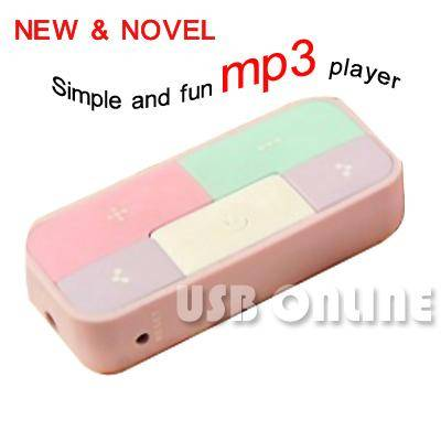 -01 S&F Simple and fun mp3 player With 2G