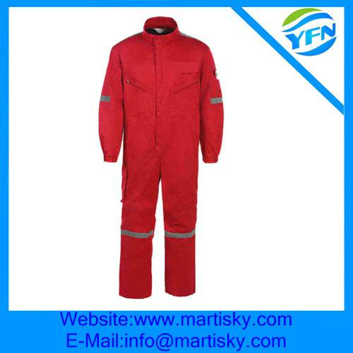 OEM Custom Fire Retardant Work Clothes Flame Retardant Workwear
