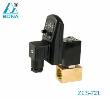 ZCS-721 solenoid valve for water supply and drainage autodrain solenoid valve