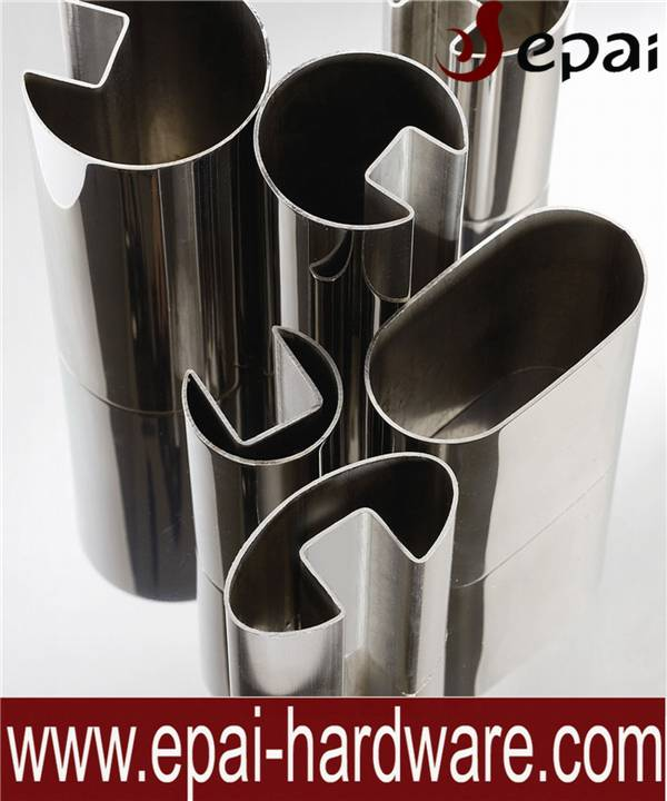 Stainless steel slotted pipe welded tube