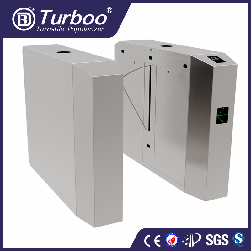 Turboo E242:304 stainless steel flap gate, security turnstile