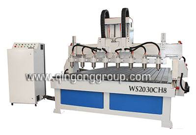 Eight Heads CNC Router Machine WS2030CH8