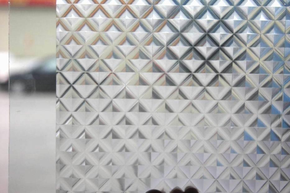 3d removable static vinyl window film