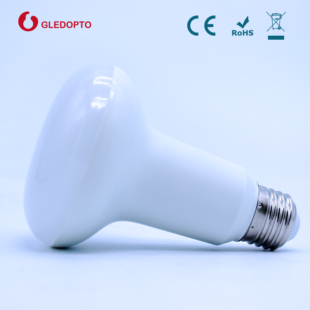 2.4G RF remote control WIFI enabled 9W RGBW smart LED PAR Light bulb with E27 Base Type