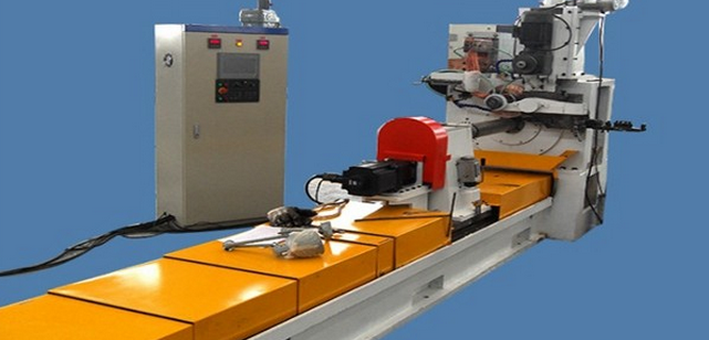 RENCHUN HWJ600 wedge wire mesh welding machine for oil filtration