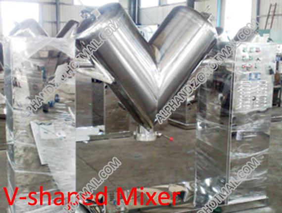 V-shaped Mixer