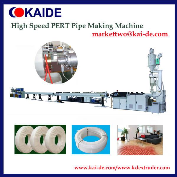 High speed PERT tube extrusion machine 16mm-32mm