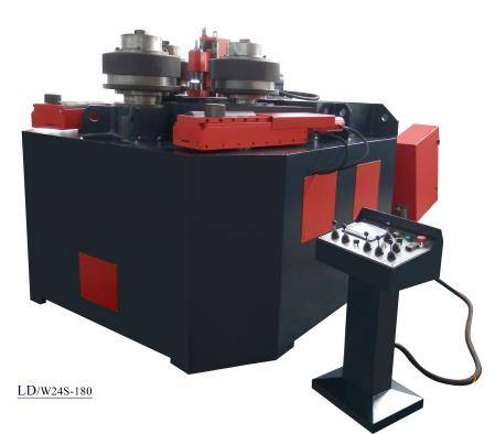 Sectional/profile bending machine