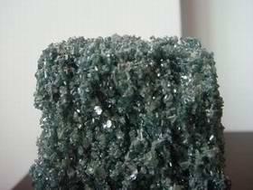 Green silicon carbide abrasive