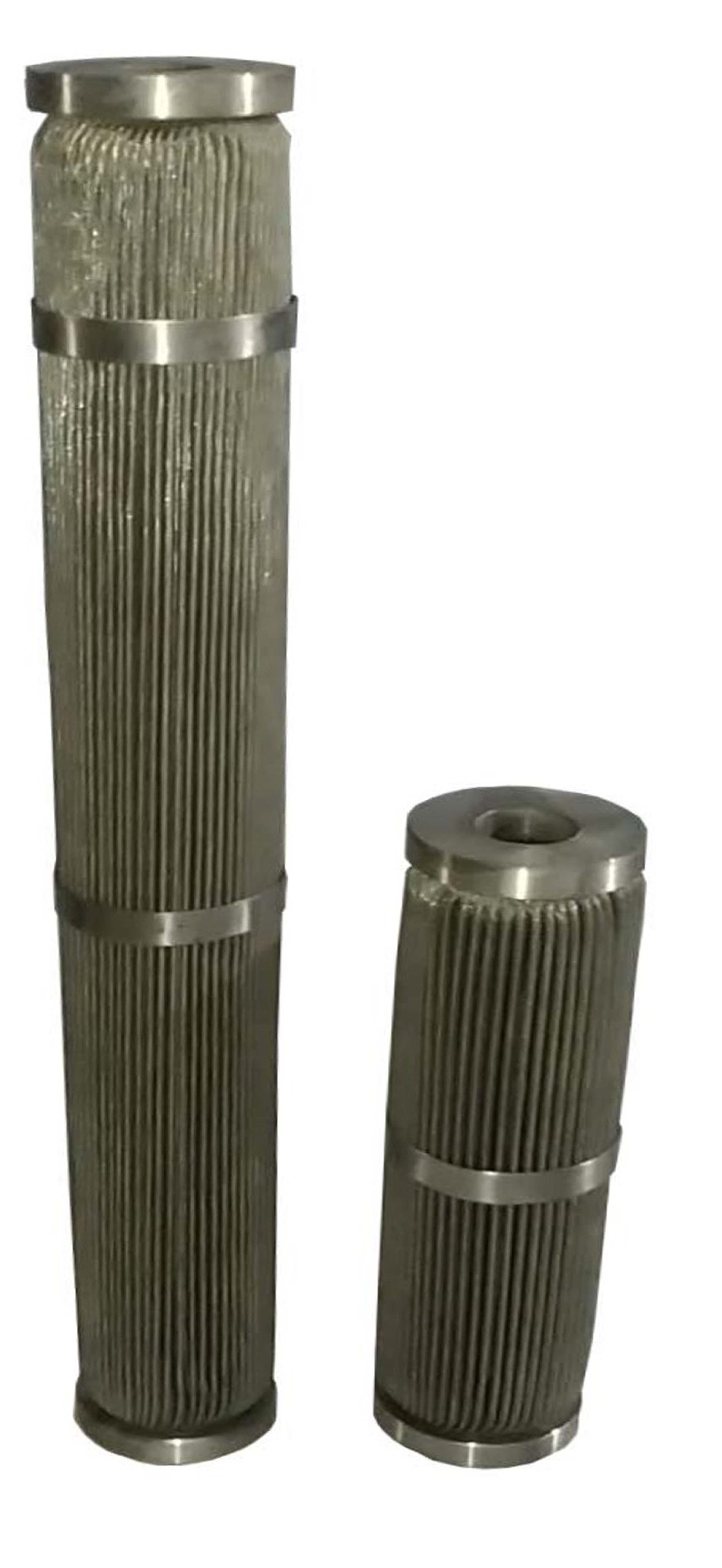 SS wiremesh Pleated Filter Cartridge