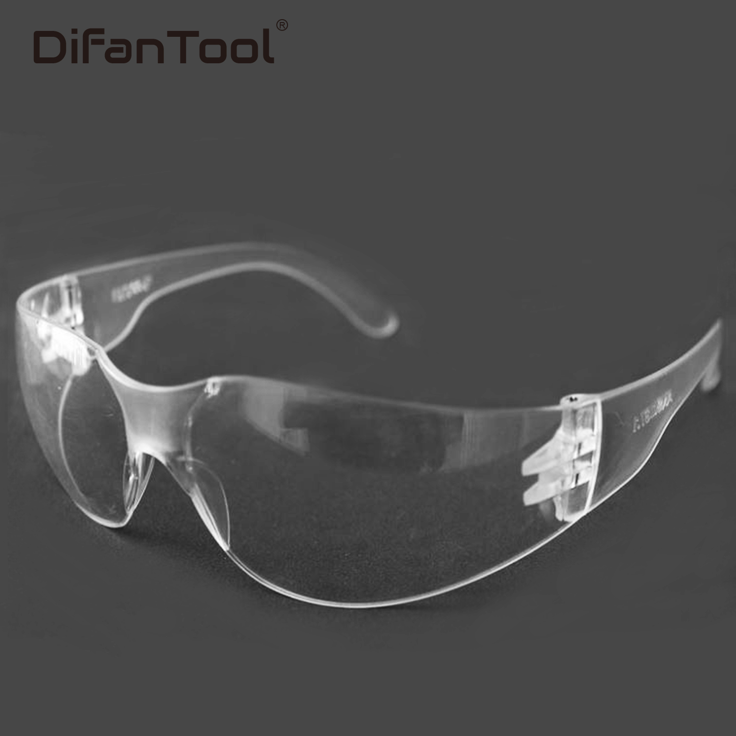 Difanmax Safety Glasses Lab Eye Protection Protective Eyewear Clear Lens Workplace Goggle