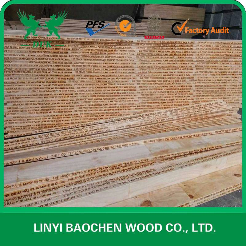 PINE LVL /LVL SCAFFOLD BOARD