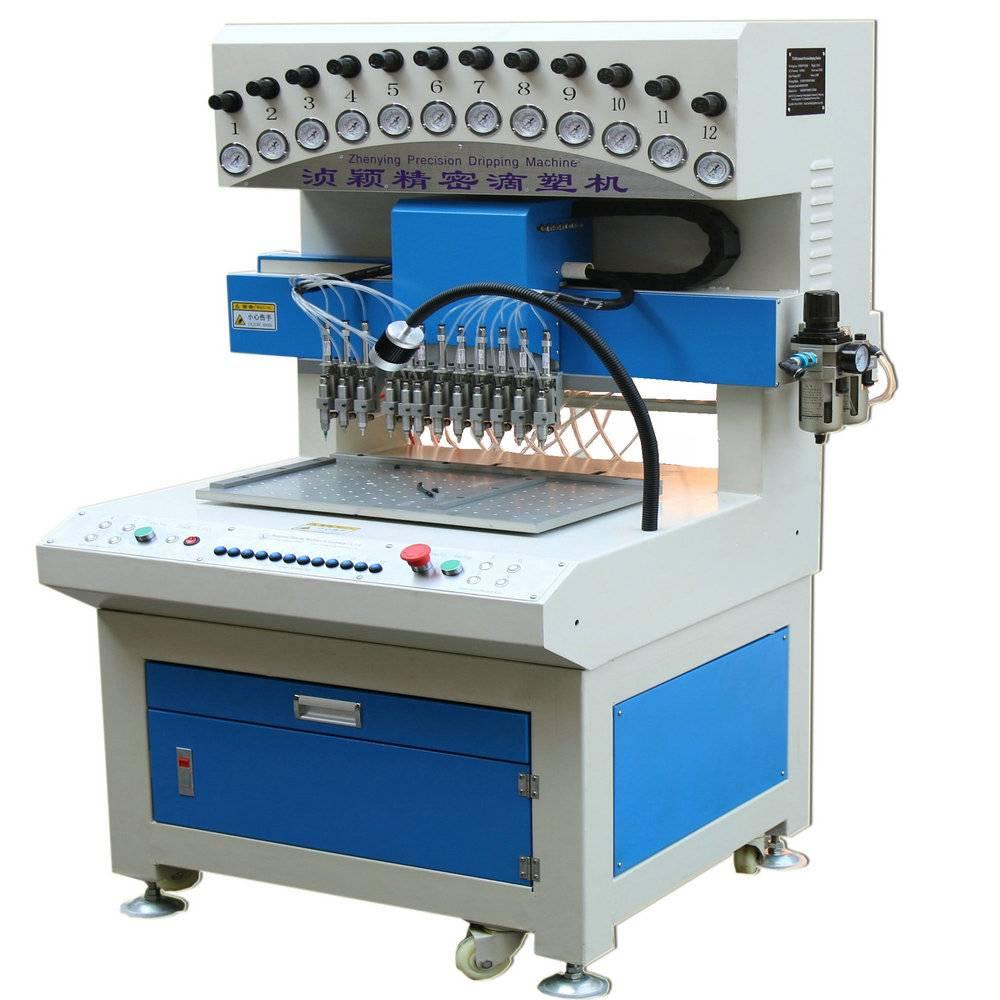 liquid soft PVC/silicone products dispensing/making machine