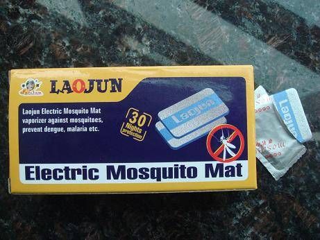 Electric mosquito mat