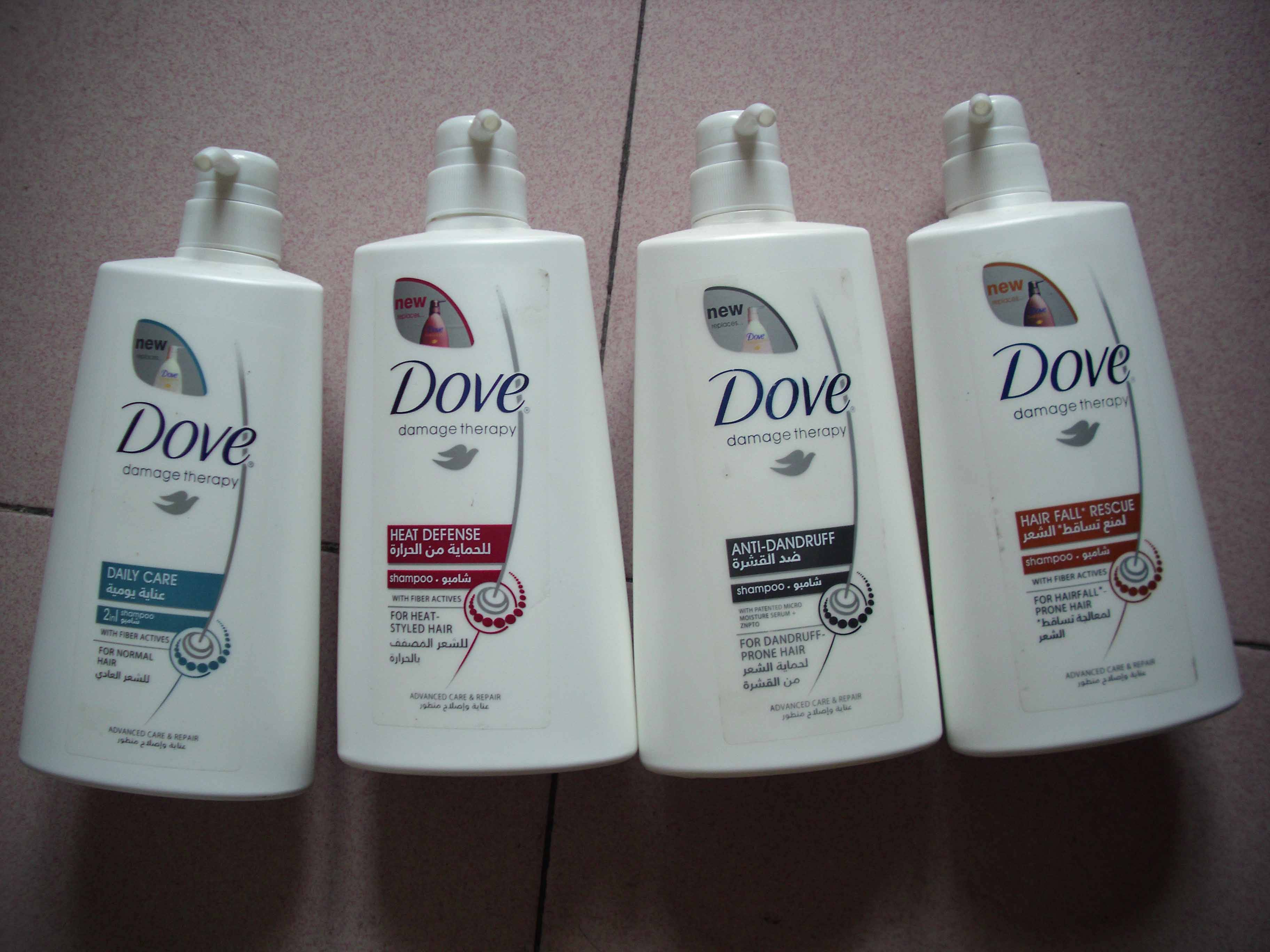Dove Hair Shampoo