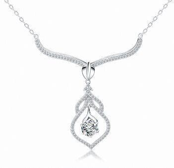 Fashion jewelry elegant custom jewelry fashion wedding necklace