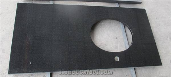 Shanxi Black Granite Bathroom Countertops, Vanity Tops, Bath Tops