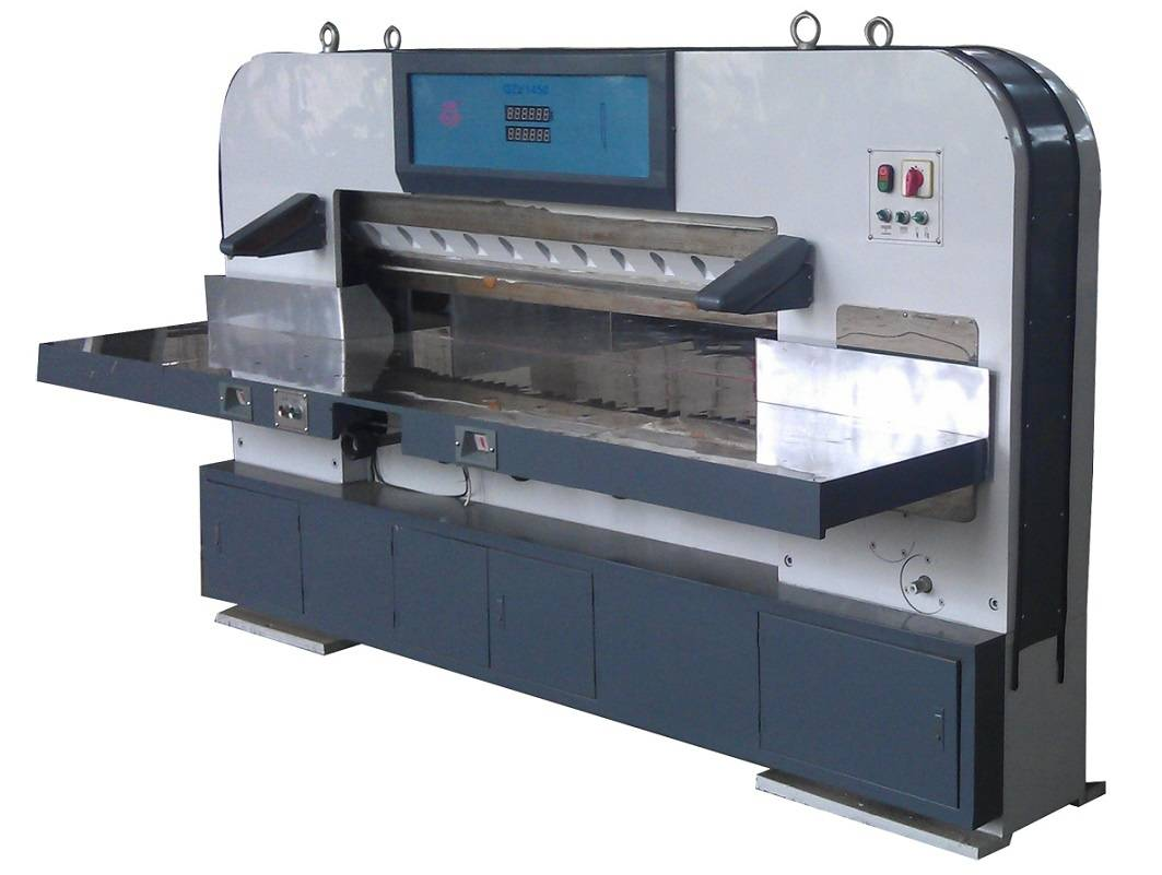 Digital Display Paper Cutting Machine (QZY1450)