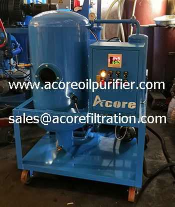 Waste Lubricating Oil Filtration & Flushing Machine