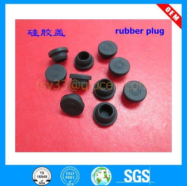 customized food grade silicone rubber stopper medical rubber stopper