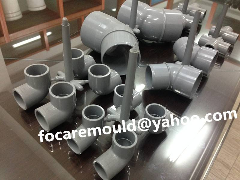 China PVC pipe fitting mold