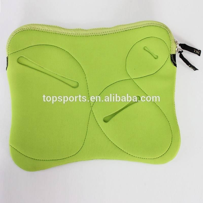 Best selling Waterproof and shockproof neoprene laptop sleeve with three poket