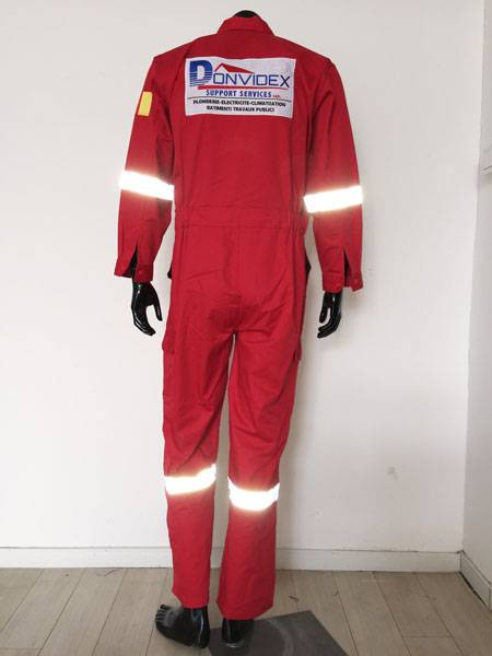 coverall with 3M reflective tape
