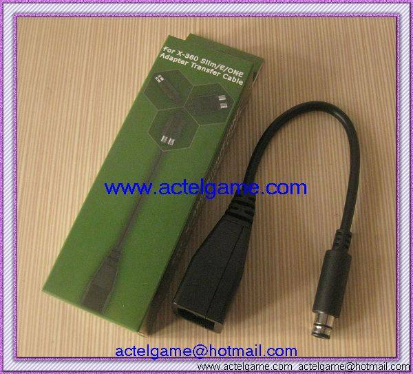 Xbox360 slim Xbox360 E Xbox one power transfer cable game accessory