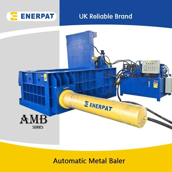 UK brand and CE approved metal baler