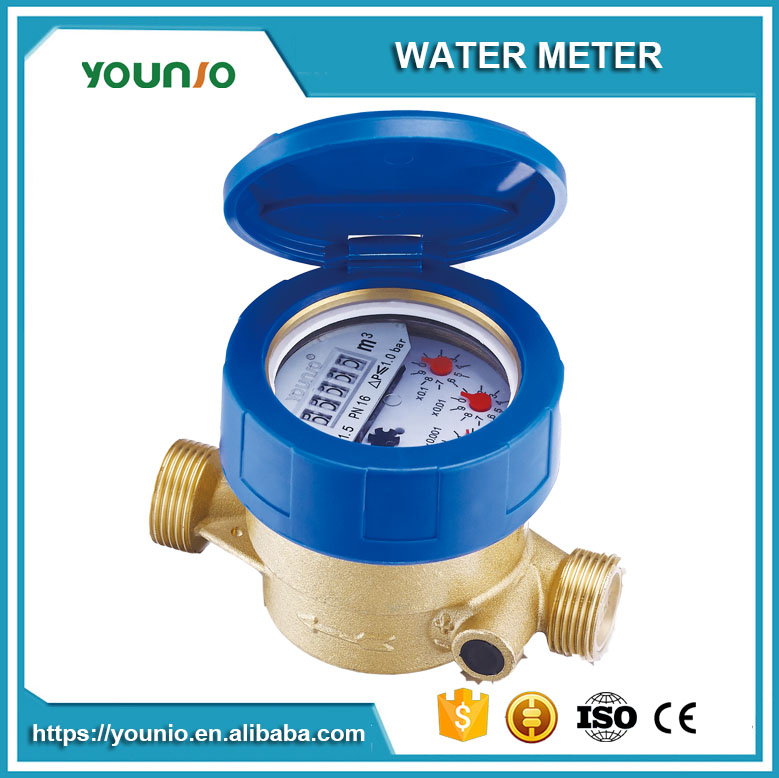 Younio Liquid Sealed Single Jet Class C medidor de agua