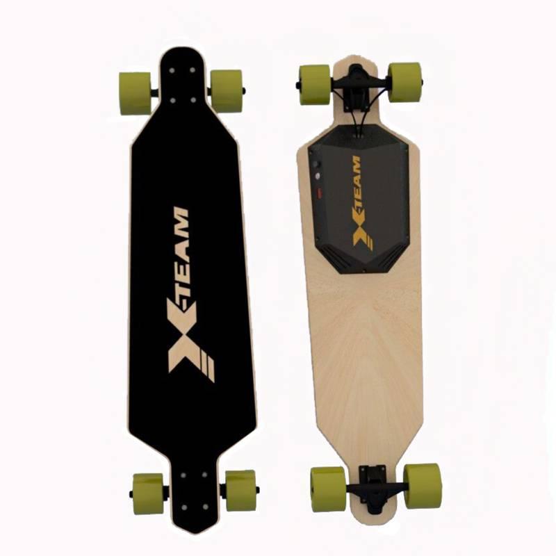 """1100W 22 Mph Hill Grade Cruise Control Electric Skateboard 36"""" --42""""Longboard Wireless Remote Contro"""