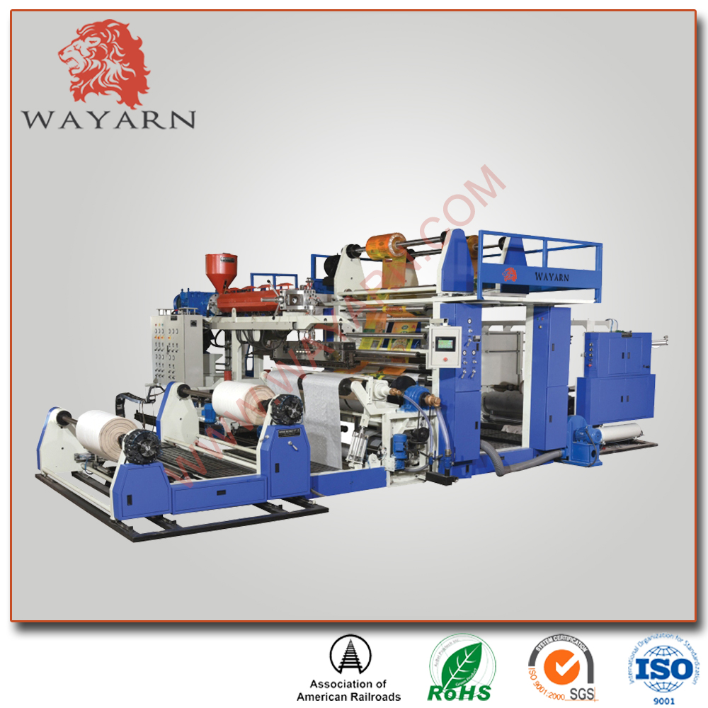 Extrusion coating PE lamination machine