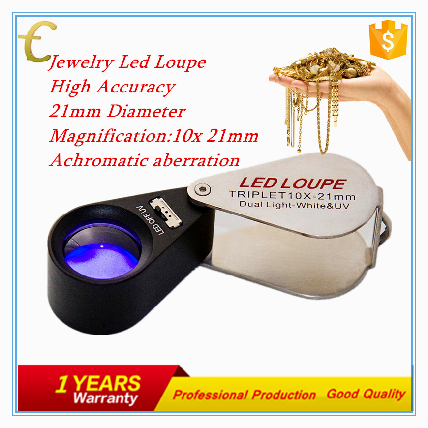30x led loupe triplet magnifiers