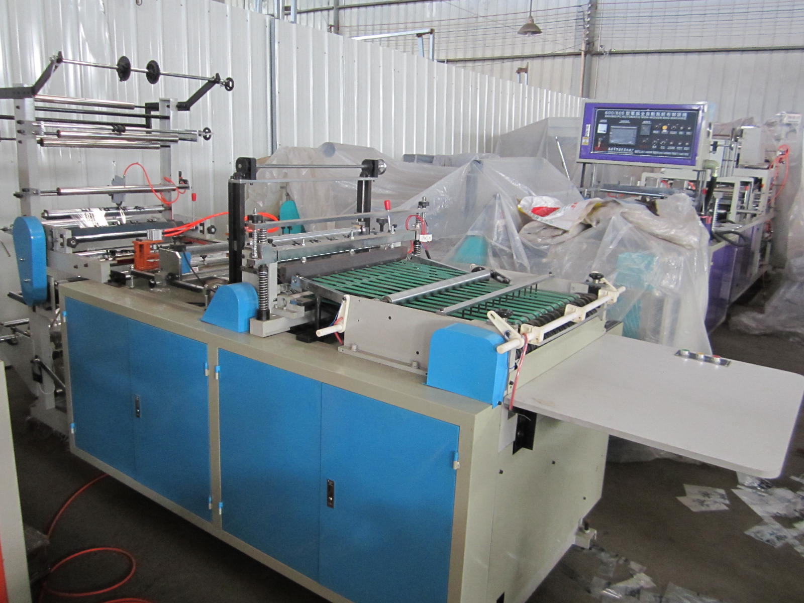 Computer Control Hot-cutting and Side-sealing Bag Making Machine