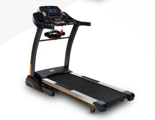 Super wider running deck treadmill for home