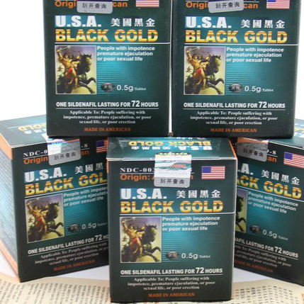 USA Black Gold Sex Enhancer sex prolong Pill