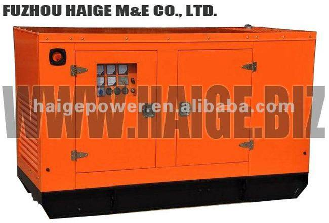 30kw/37.5kva diesel generator with Cummins engine,Stamford alternator
