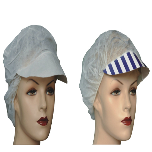 non-woven sms surgeon cap pp nonwoven bouffant cap disposable strip cap