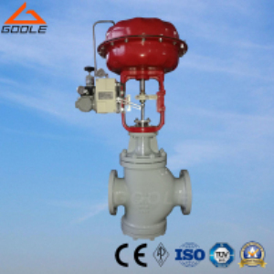 ZJHN Pneumatic Double Seated Flow Regulating Valve