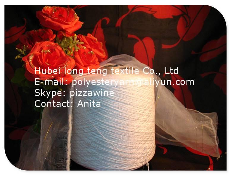 100% 20/2 Spun polyester yarn