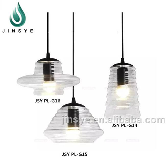 Office crystal hanging pendant light glass ceiling lamp