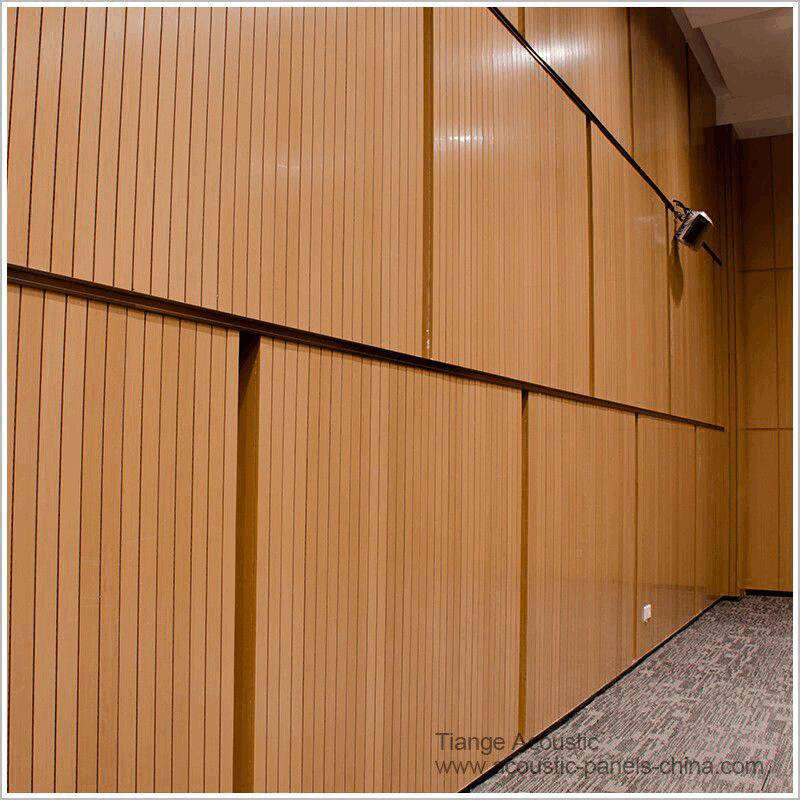 Acoustic Pannel Wooden Grooved Acoustical Panel