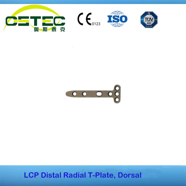 LCP Distal Radial T-Plate, Dorsal