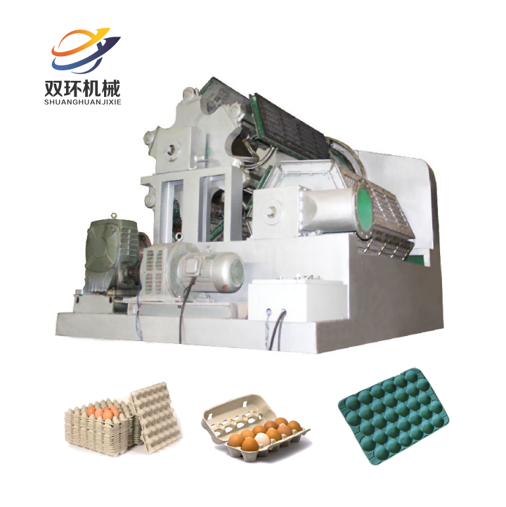 Best sales used waste paper egg tray carton box making machine