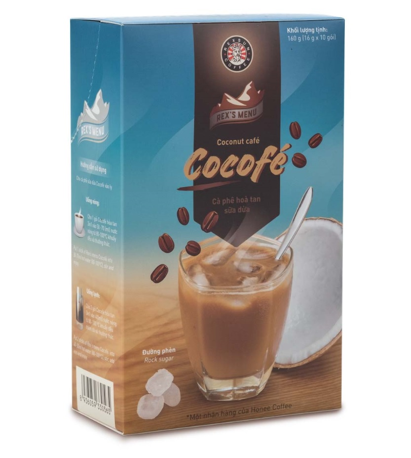 Rexsun - Cocofe 3 in 1 Instant coffee with coconut milk powder