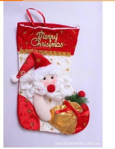christmas socks GIFT santa claus  christmas decoration for home
