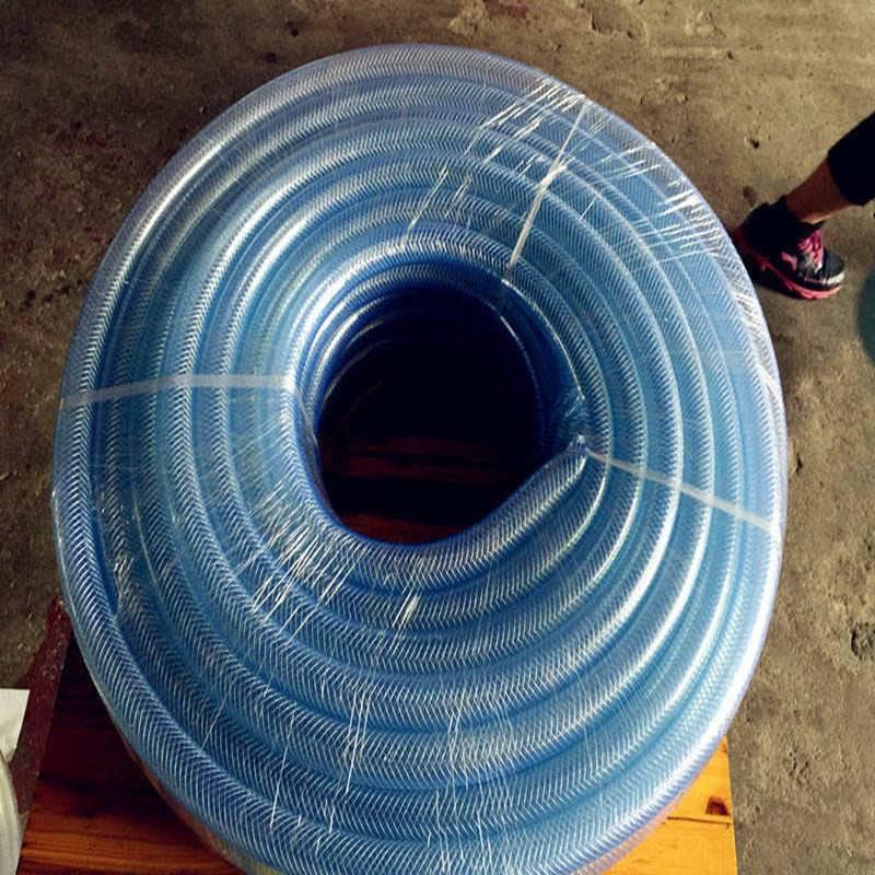 Fiber reinforced pvc hose